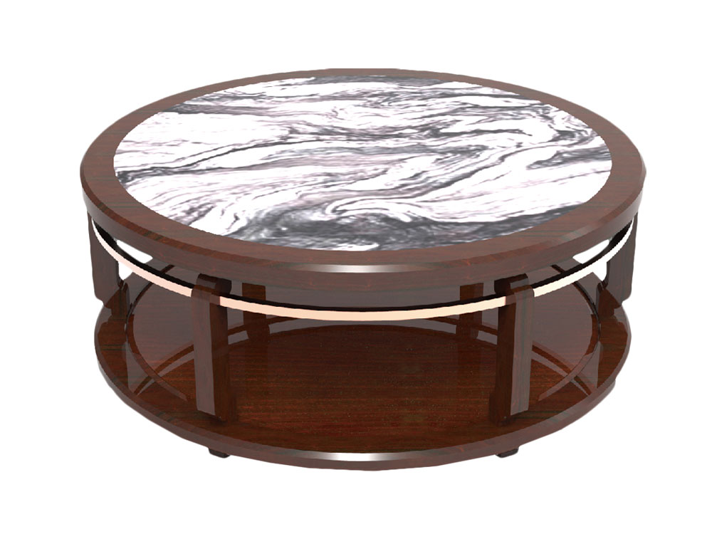 MING ROUND COFFEE TABLE