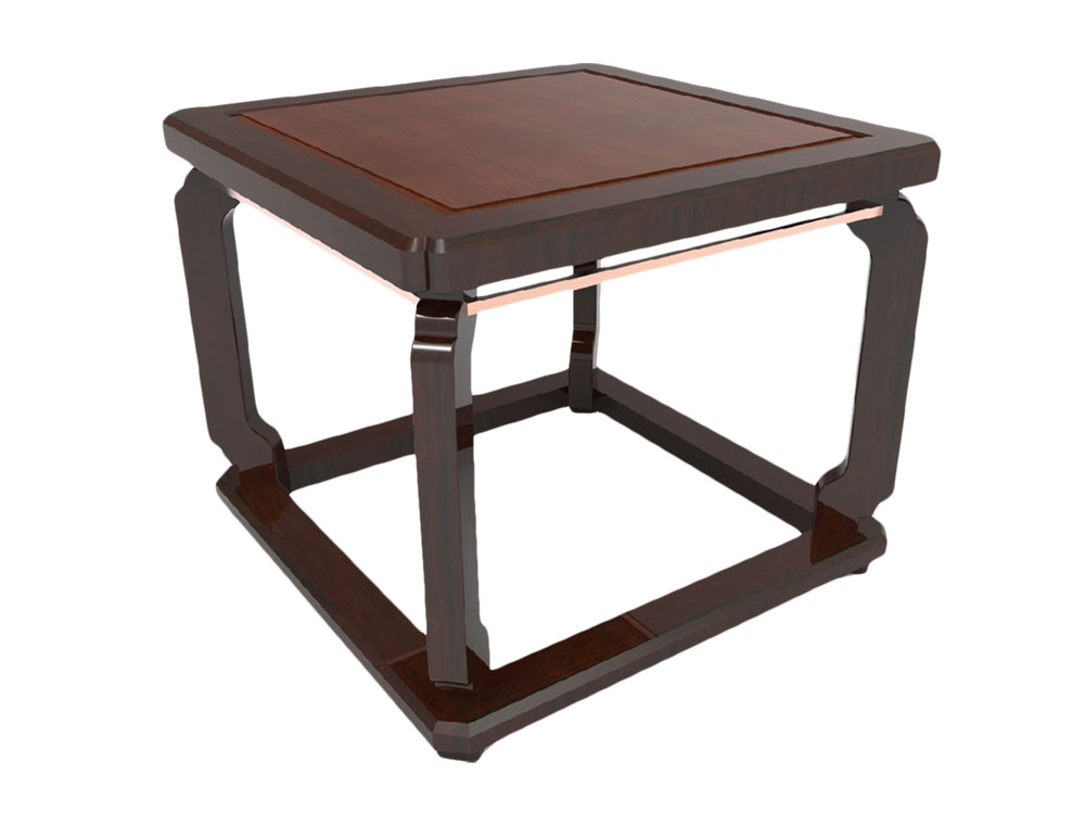 MING SQUARE END TABLE
